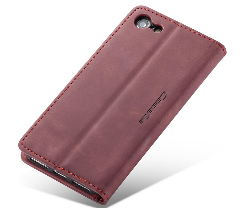 CaseMe iPhone 7 Leather Wallet Case