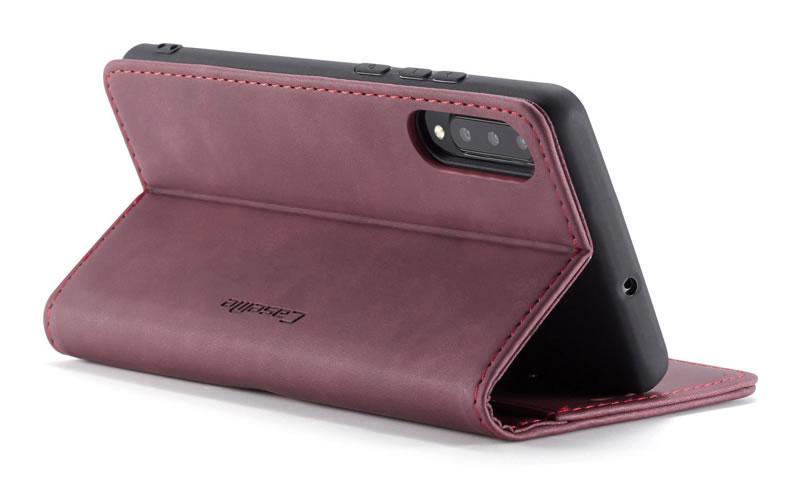 CaseMe Samsung Galaxy A30S Leather Wallet Case