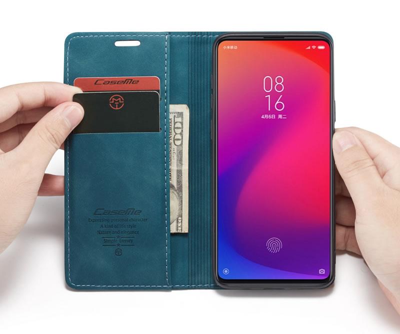 CaseMe Xiaomi 9T Leather Wallet Case