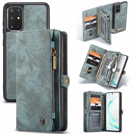 CaseMe 008 Samsung Galaxy S20 Plus wallet case blue