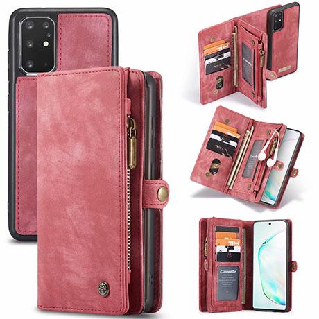 CaseMe 008 Samsung Galaxy S20 Plus wallet case red