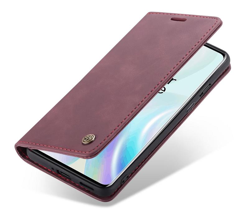 CaseMe OnePlus 8 Leather Wallet Case