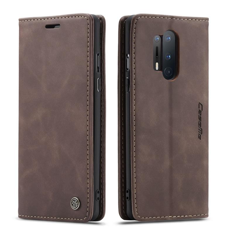 CaseMe OnePlus 8 Pro Leather Wallet Case