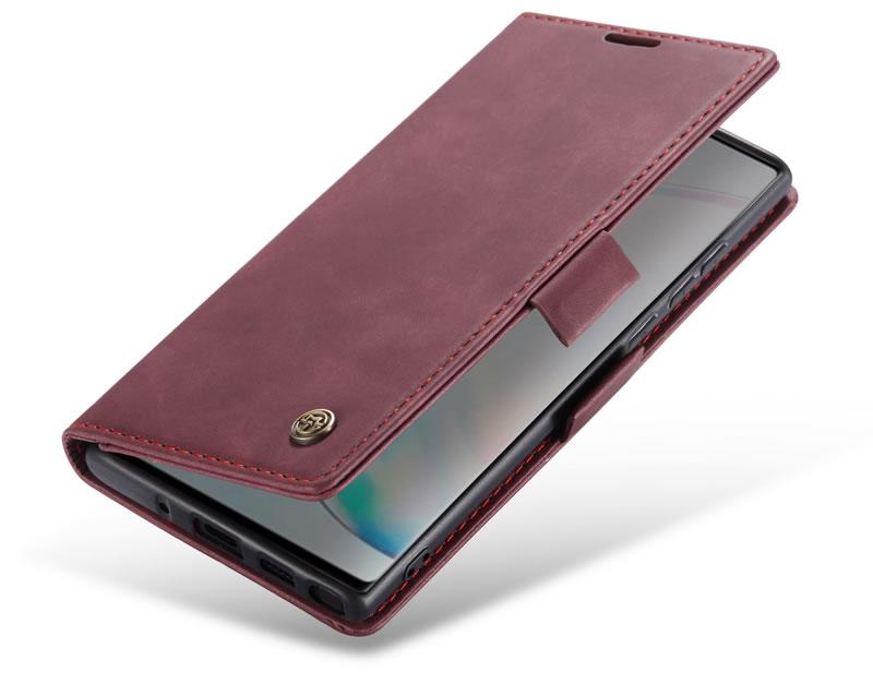 CaseMe Samsung Galaxy Note 10 Lite Leather Wallet Case