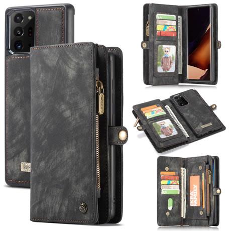 CaseMe 008 Samsung Galaxy Note 20 Ultra wallet case black