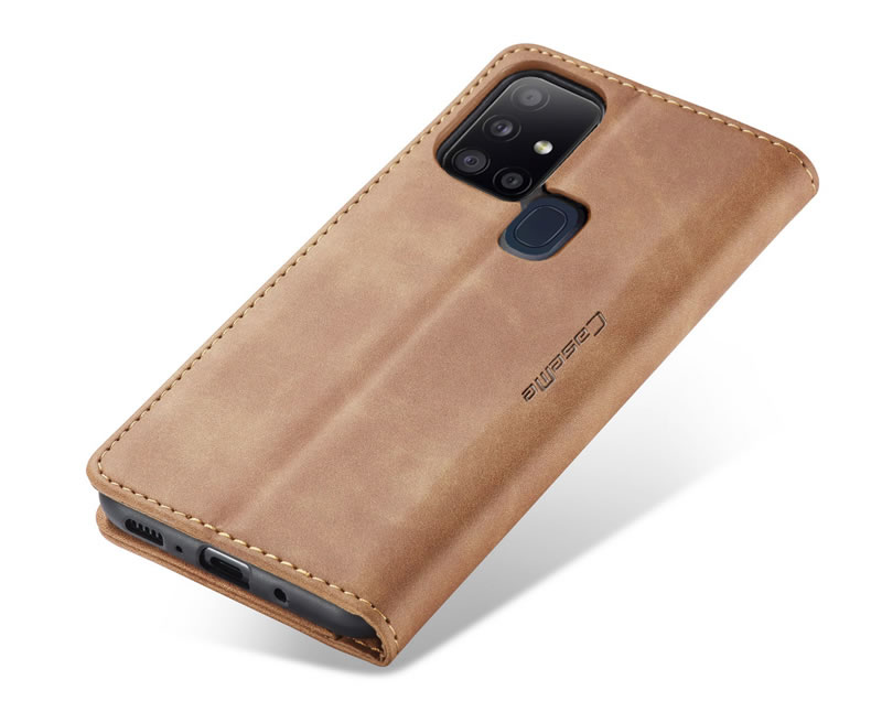 CaseMe Samsung Galaxy A21S Leather Wallet Case