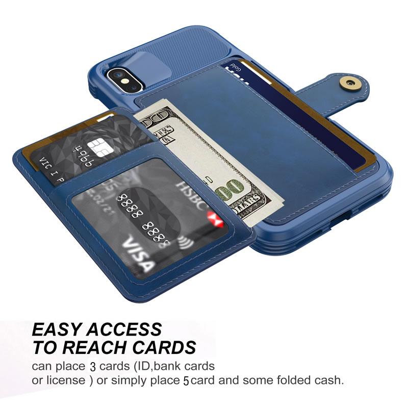 iPhone X Wallet Case