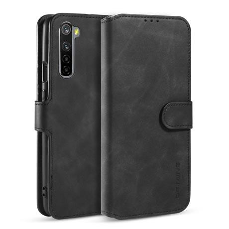 DG.MING OnePlus Nord Wallet Case Black