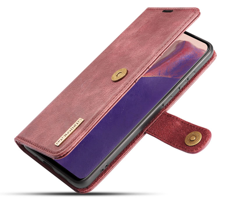 DG.MING Samsung Galaxy Note 20 Leather Wallet Case