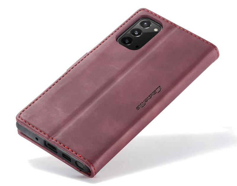CaseMe Samsung Galaxy Note 20 Leather Wallet Case