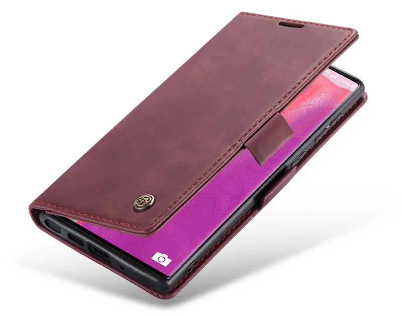 CaseMe Samsung Galaxy Note 20 Ultra Leather Wallet Case