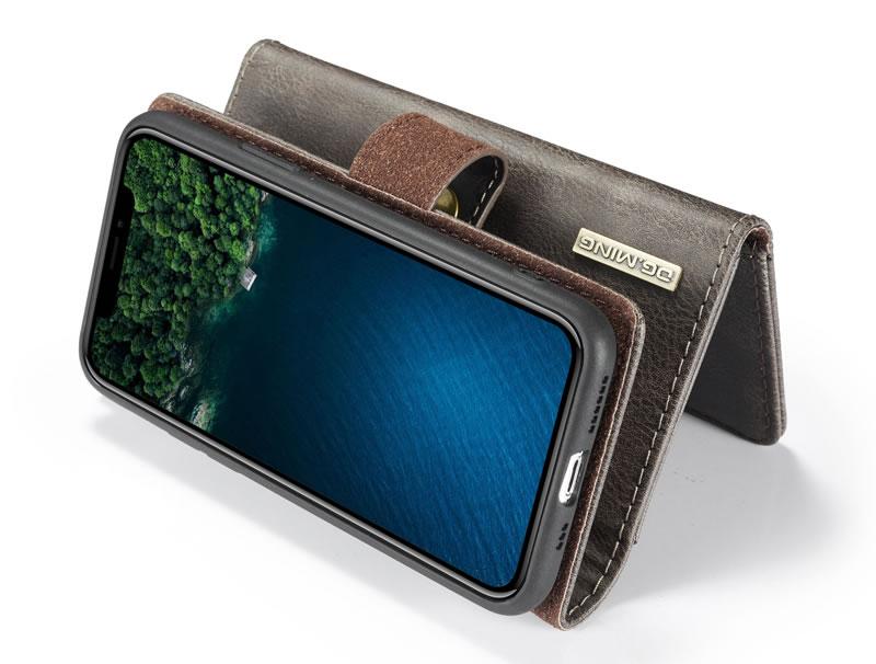 DG.MING iPhone 11 Pro Max Wallet Case