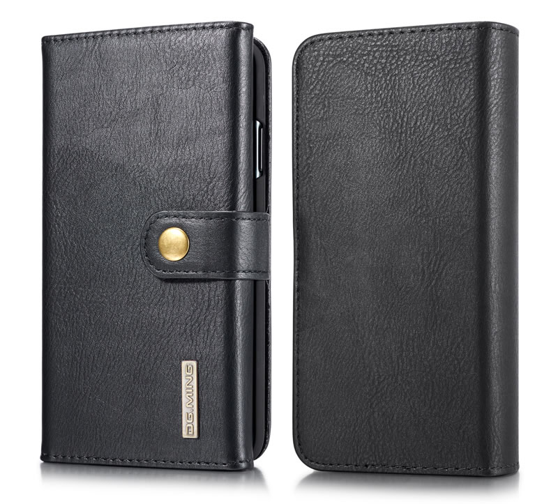 DG.MING iPhone XR Wallet Case