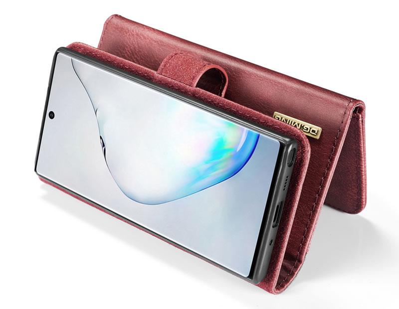 DG.MING Samsung Galaxy Note 10 Wallet Case