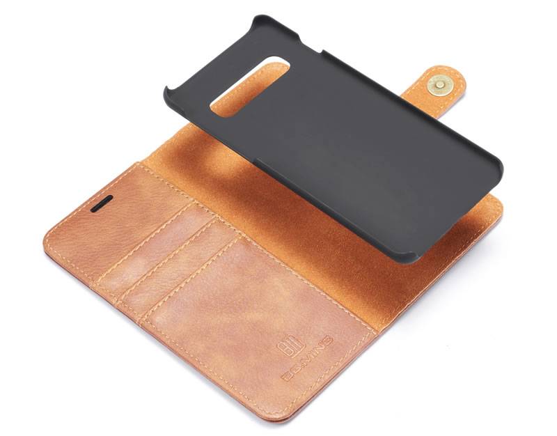 DG.MING Samsung Galaxy S10 Plus Wallet Case