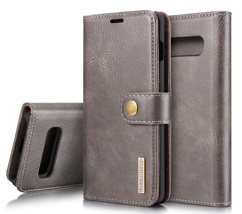 DG.MING Samsung Galaxy S10 Wallet Case
