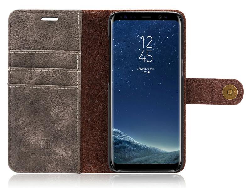 DG.MING Samsung Galaxy S8 Wallet Case