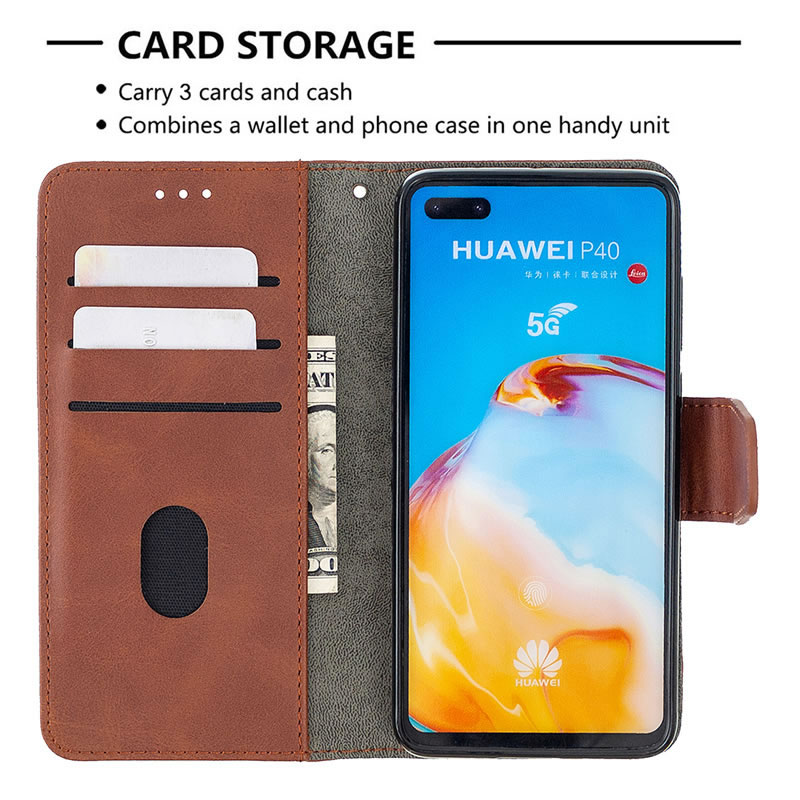 Binfen Color Huawei P40 Leather Case