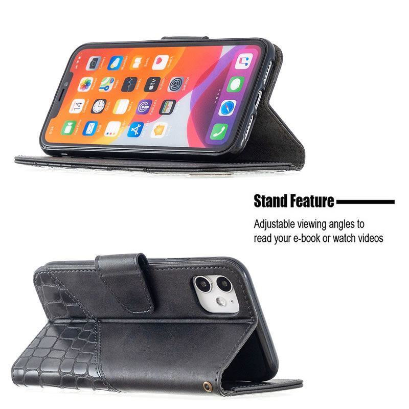 Binfen Color iPhone 11 Leather Case