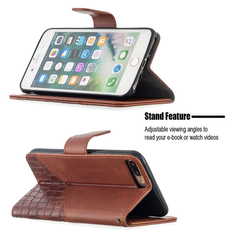 Binfen Color iPhone 8 Plus Leather Case