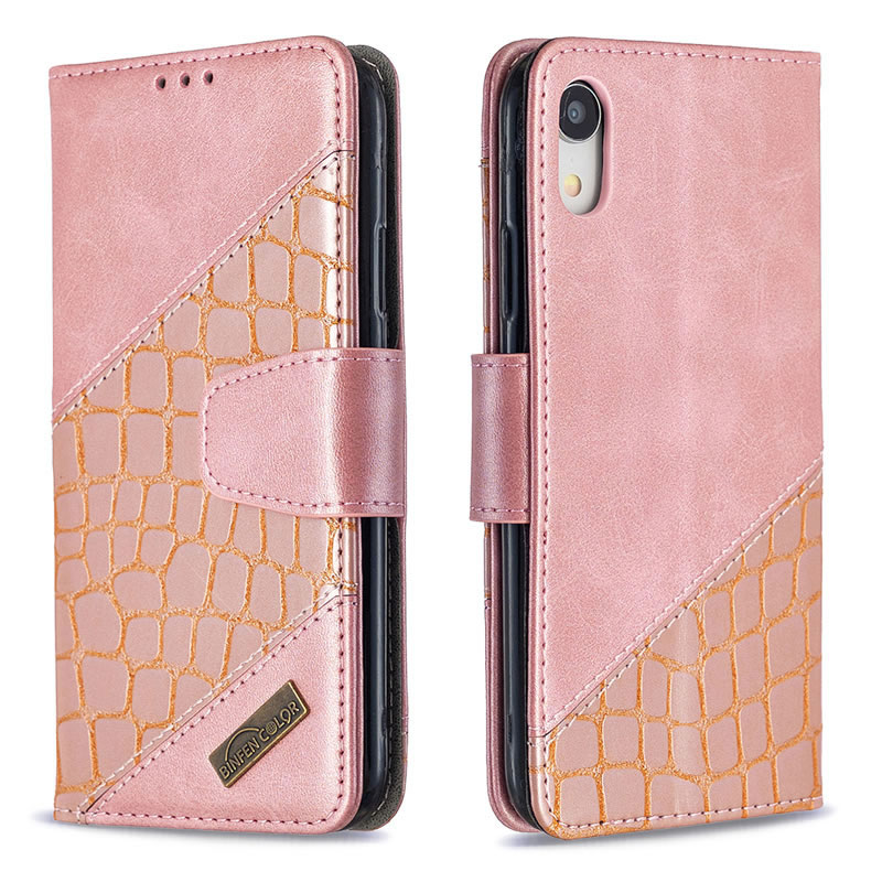 Binfen Color iPhone XR Leather Case