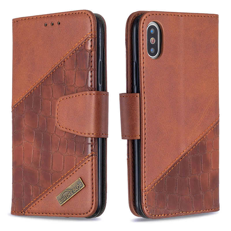 Binfen Color iPhone X Leather Case