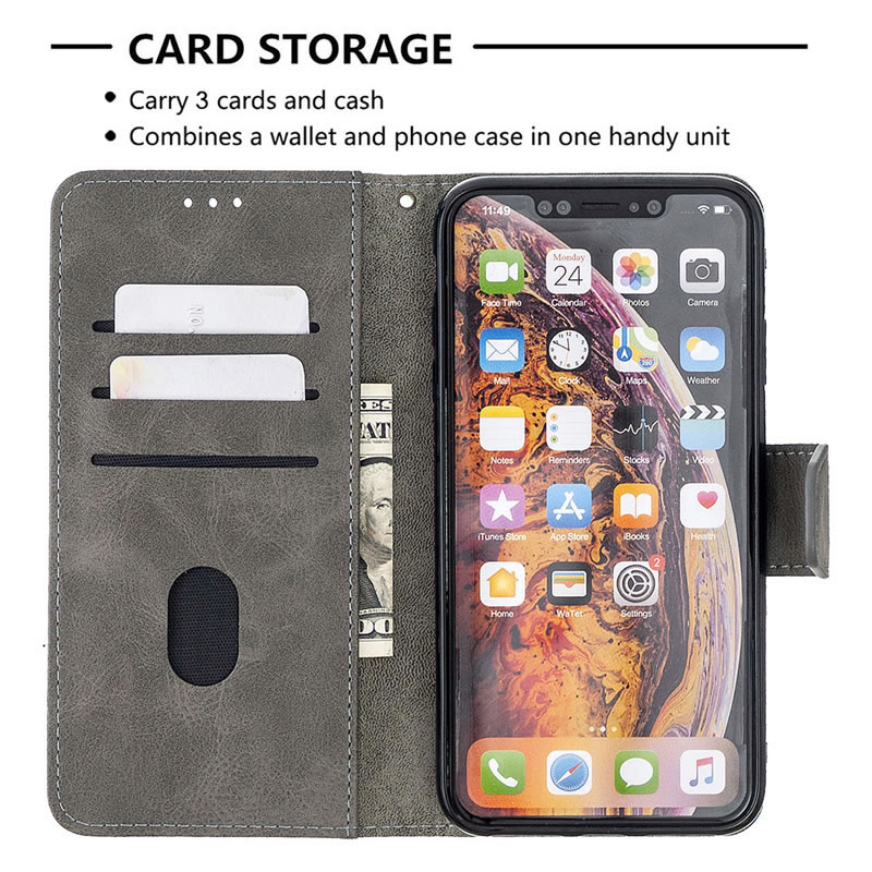 Binfen Color iPhone XS Max Leather Case