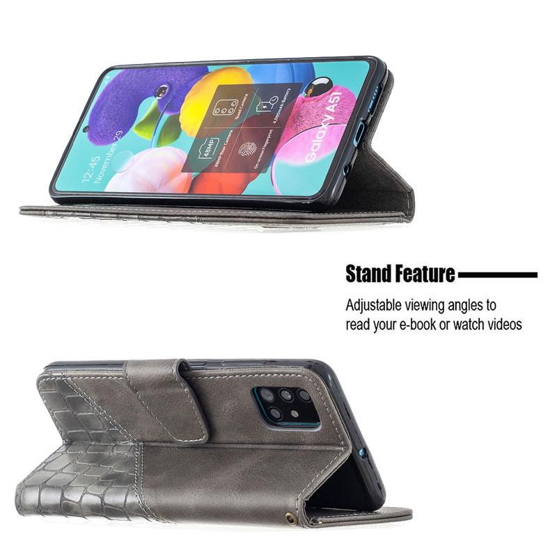 Binfen Color Samsung Galaxy A51 Leather Case