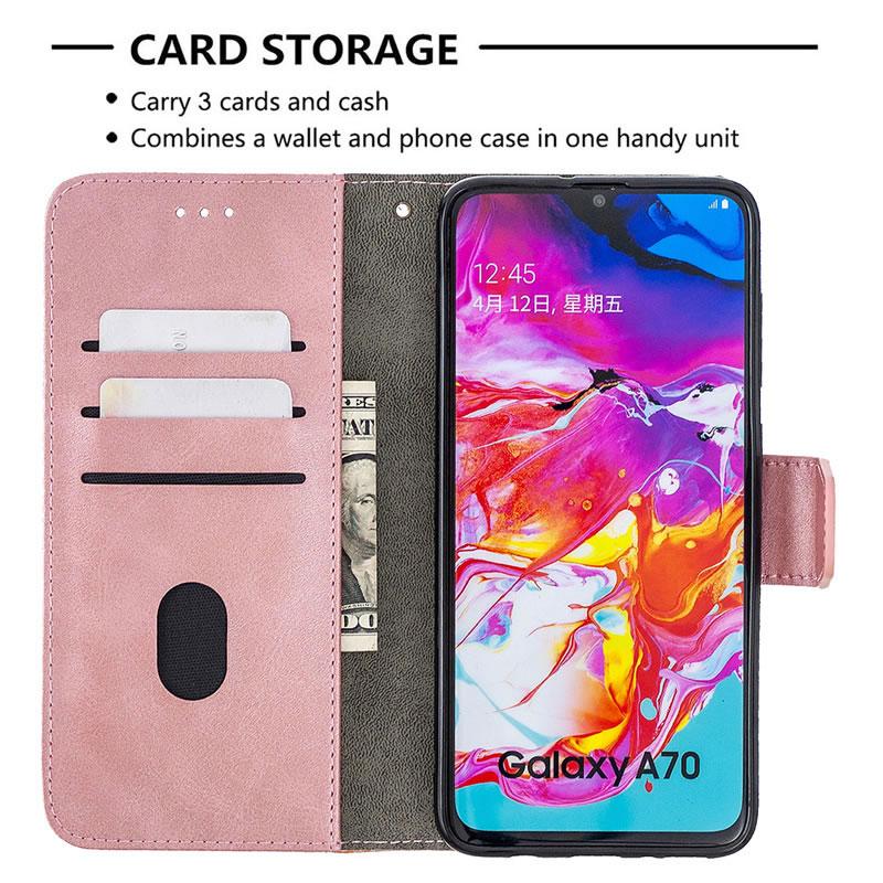 Binfen Color Samsung Galaxy A70 Leather Case