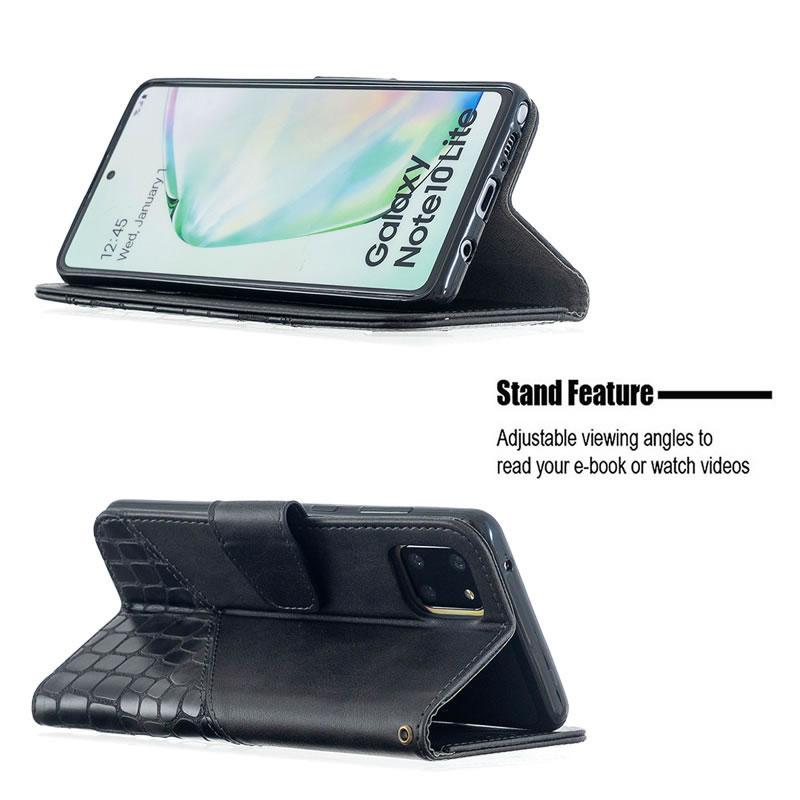 Binfen Color Samsung Galaxy A81 Leather Case
