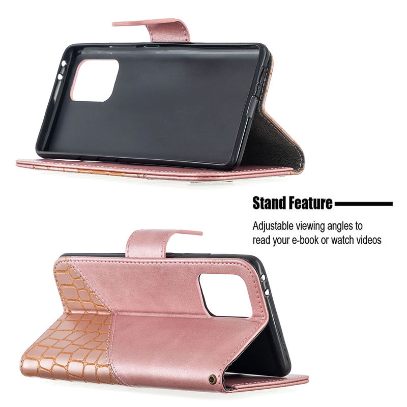 Binfen Color Samsung Galaxy A91 Leather Case
