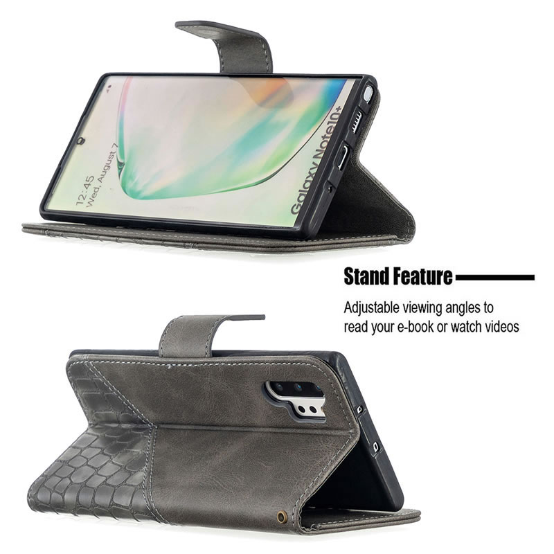 Binfen Color Samsung Galaxy Note 10 Plus Leather Case
