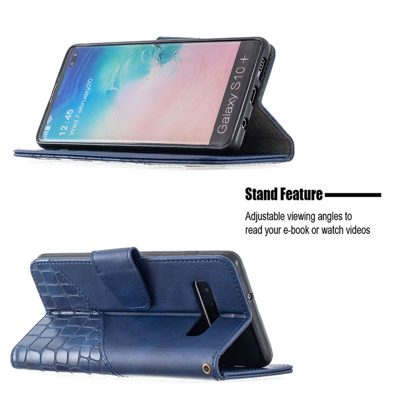 Binfen Color Samsung Galaxy S10 Plus Leather Case