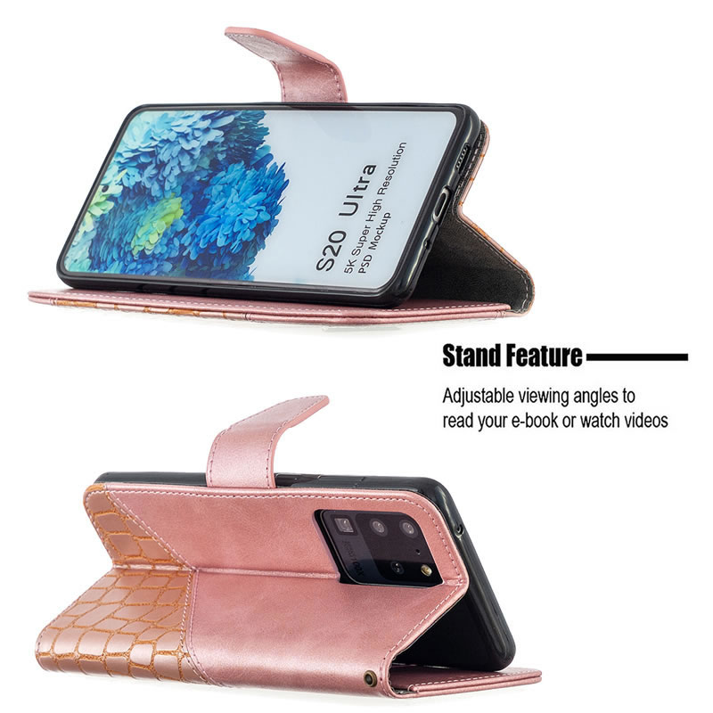 Binfen Color Samsung Galaxy S20 Ultra Leather Case