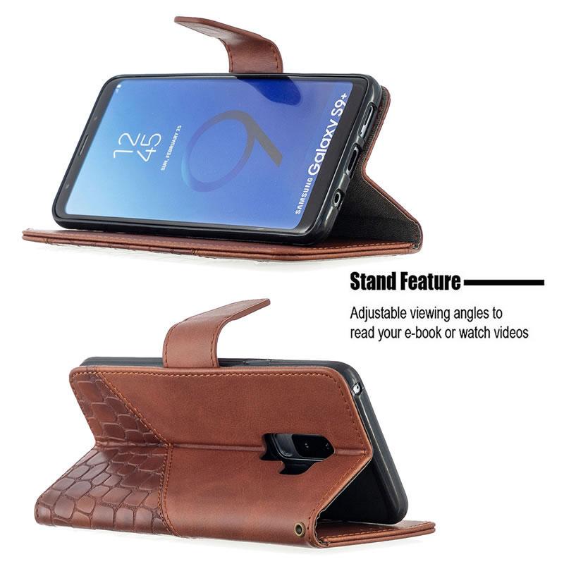 Binfen Color Samsung Galaxy S9 Plus Leather Case