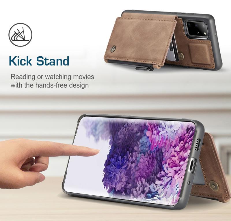 CaseMe Samsung Galaxy S20 Plus Leather Wallet Case