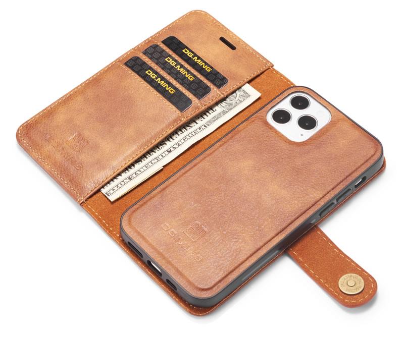 DG.MING iPhone 12 Pro Wallet Case