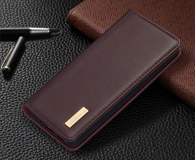 Huawei P40 Pro Leather Wallet Case