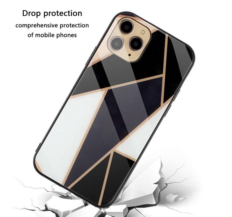 iPhone 11 Pro Geometric Marble Case