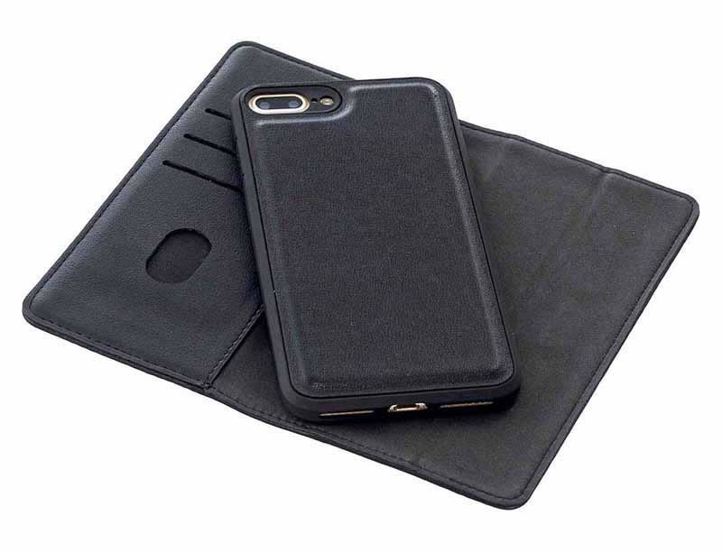 iPhone 8 Plus Leather Wallet Case