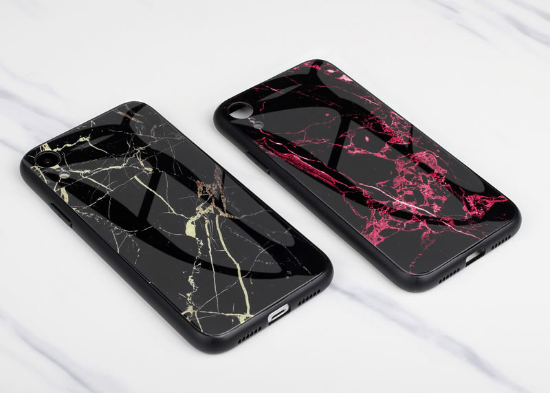 iPhone XR Marble Case