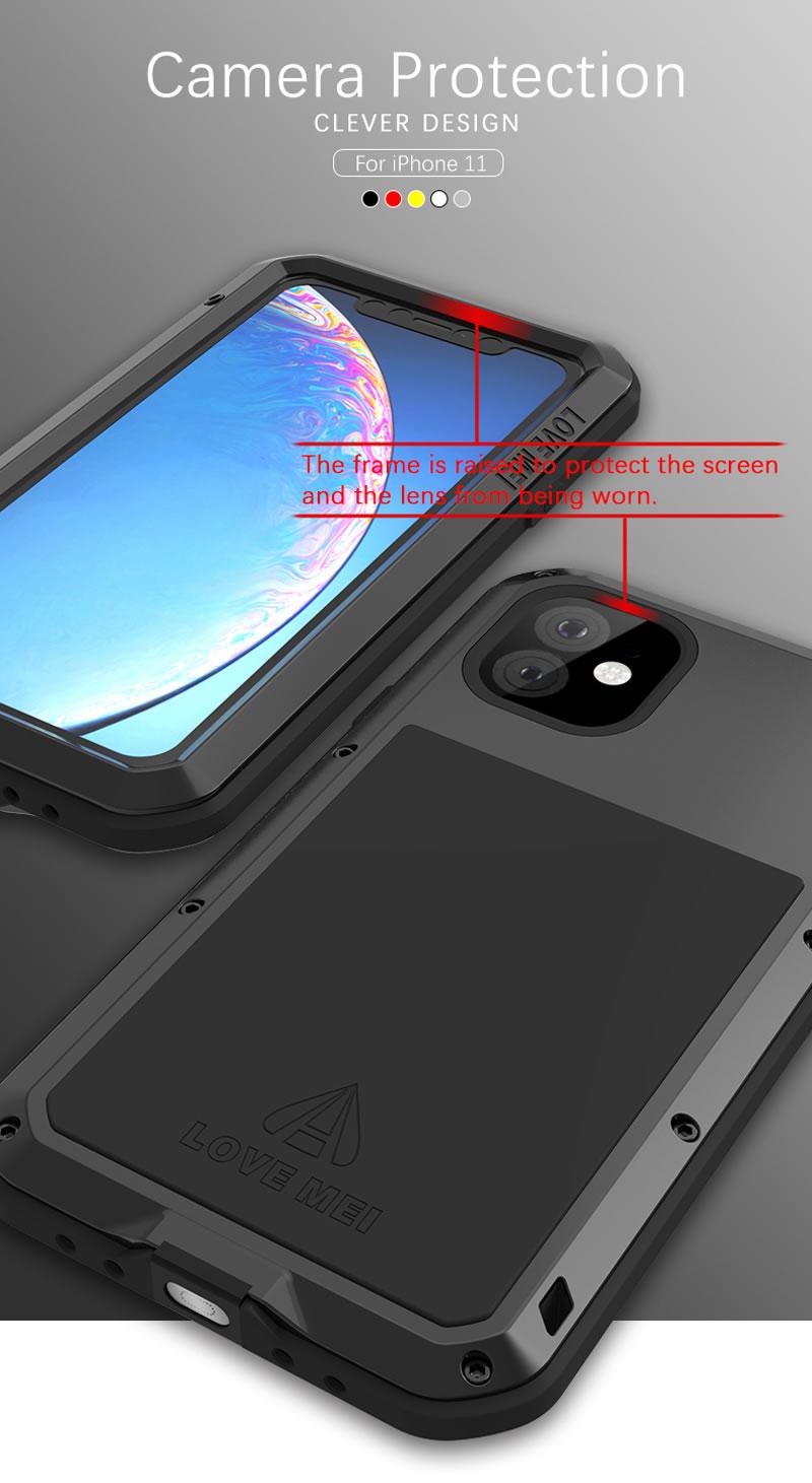 Love Mei Powerful iPhone 11 Case