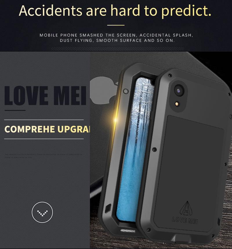 Love Mei Powerful iPhone XR Case