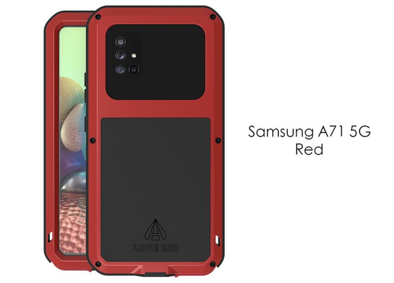 Love Mei Powerful Samsung Galaxy A71 5G Case