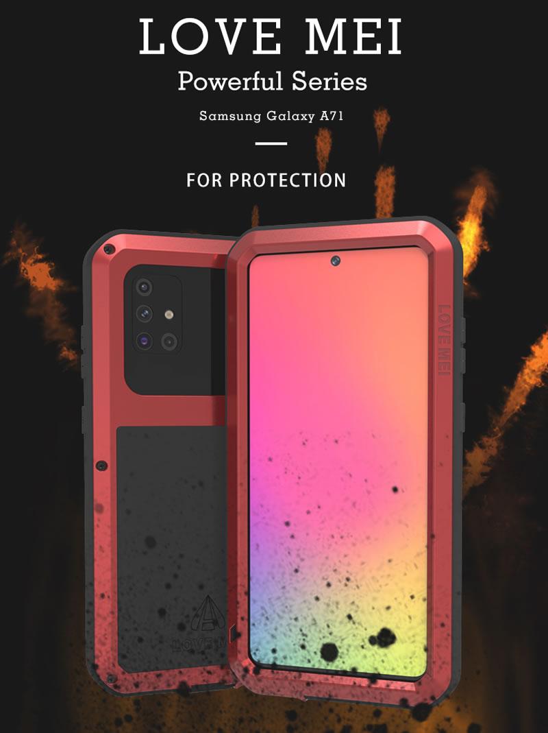 Love Mei Powerful Samsung Galaxy A71 Case