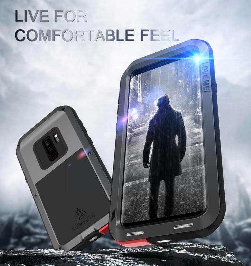 Love Mei Powerful Samsung Galaxy S9 Plus Case