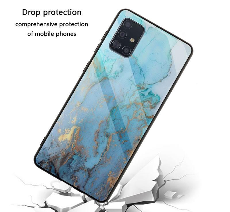 Samsung Galaxy A71 Marble Case