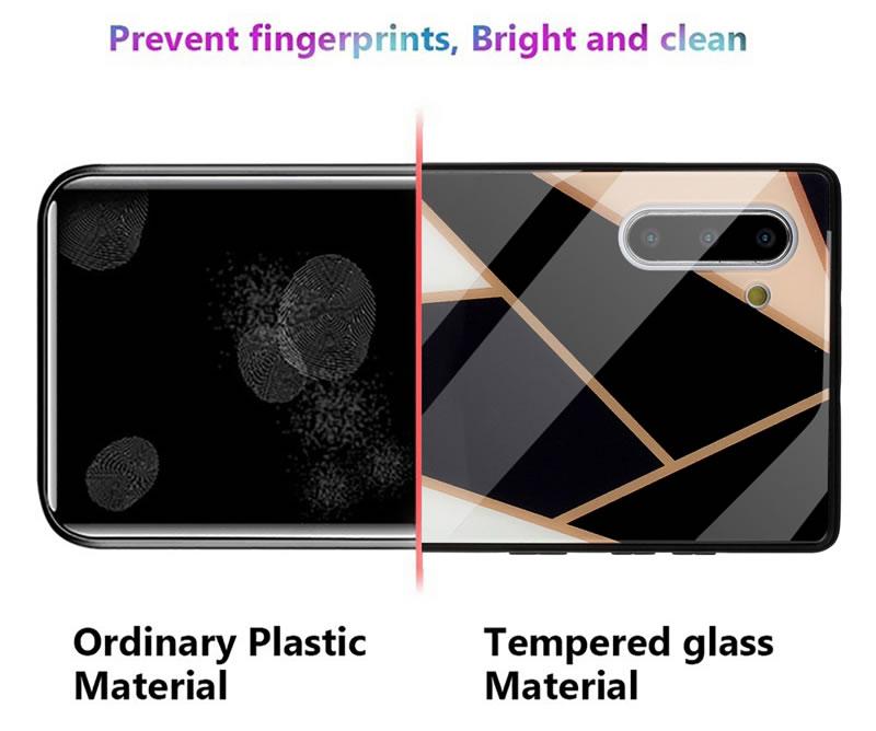 Samsung Galaxy Note 10 Geometric Marble Case