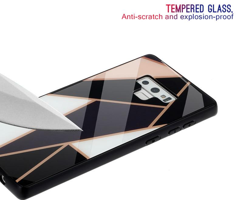 Samsung Galaxy Note 9 Geometric Marble Case