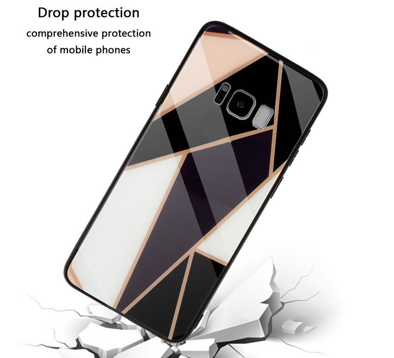 Samsung Galaxy S8 Plus Geometric Marble Case